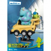 Beast Kingdom Monsters Inc Coin Ride D-Stage 037 Monstros SA