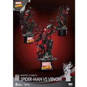 Beast Kingdom Spider Man Vs Venom D-Stage 040 Marvel Comics