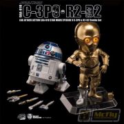 Beast Kingdom Star Wars C-3po E R2-d2 Egg Attack Eaa-010