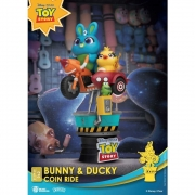 Beast Kingdom Toy Story Bynny e Ducky Coin Ride D-Stage 062