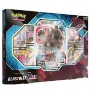 Box Coleção de Batalha Blastoise VMAX Pokemon Card