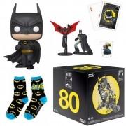 COLLECTORS BOX BATMAN 80TH ANNIVERSARY HEROWORLD POP FUNKO