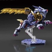 Digimon Metal Garurumon Figure Rise Amplified Model Kit