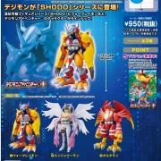Digimon Shodo Digimon Adventure 1 Bandai Shokugan