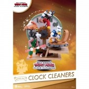 Disney Clock Cleaners Mickey Donald Pateta DS-046  D-STAGE