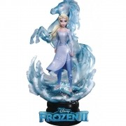 Disney Frozen II Elsa D-STAGE 038 BEAST KINGDOM DISNEY