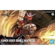 Figure Rise Kamen Rider Double Heat Metal Bandai Model Kit