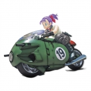 Figure Rise Mechanics Bulma Motorcycle Dragon Ball Model kit
