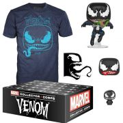 FUNKO COLLECTORS CORPS BOX VENOM THEME LARGE T SHIRT SIZE