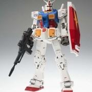 Gundam #1017 RX-78-02 40TH Anniversary Ver.Metal Composite