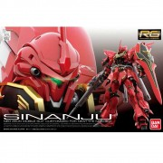 GUNDAM 1/144 RG #22 SINANJU NEO ZEON CUSTOMIZED FOR NEWTYPE