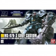 Gundam HG #117 MS-07B-3 Gouf Custom 1/144 Model Kit