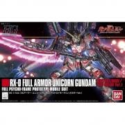 Gundam HG #199 RX-0 FULL ARMOR UNICORN RED 1/144 MODEL KIT