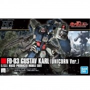 GUNDAM HG #221 GUDTAV KARL UNICORN VER 1/144 model kit