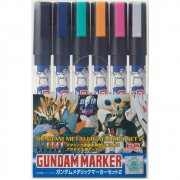 GUNDAM MAKER METALLIC SET 2 CANETA GUNDAM