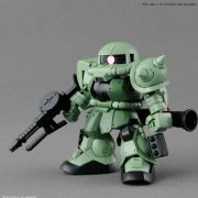 Gundam SD MS-06F Zaku II Bandai Model Kit