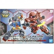 Gundam SD RX-78 2 MS-06S ZAKU II MODEL KIT