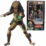 Hiya Predator 2 Battle Damage City Hunter PX 1/18 Predador