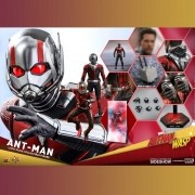 HOT TOYS ANT MAN AND WASP - ANT MAN HOMEM FORMIGA MMS497