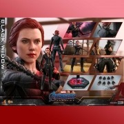 HOT TOYS AVENGERS END GAME BLACK WIDOW MMS533
