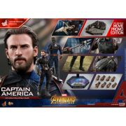 HOT TOYS CAPTAIN AMERICA INFINITY WAR MMS481 DELUXE