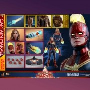Hot Toys Captain Marvel Deluxe Movie MMS522
