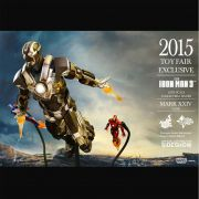 HOT TOYS IRON MAN TANK MARK XXIV MMS303 EXCLUSIVE CCXP