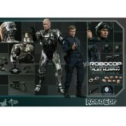 HOT TOYS RoboCop (Damaged ver) and Alex Murphy MMS266