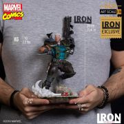 IRON STUDIOS X-MEN CABLE 1/1O EXCLUSIVO