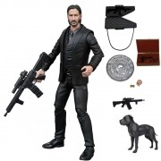 JOHN WICK SELECT BLACK SUIT FIGURE