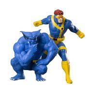 KOTOBUKIYA X-Men 92 Cyclops & Beast - ArtFX+ Statue