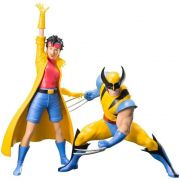KOTOBUKIYA X-Men 92 Wolverine & Jubilee - ArtFX+ Statue