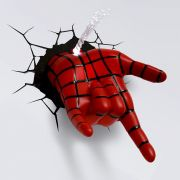 LUMINARIA SPIDER MAN HAND