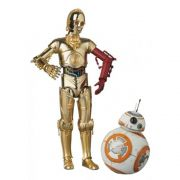 MAFEX 029 C-3PO E BB-8 STAR WARS