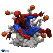 Marvel Gallery Pumpkin Bomb Spider Man PVC Diamond Selec