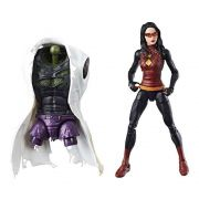 MARVEL LEGENDS - SPIDERWOMAN - BAF LIZARD
