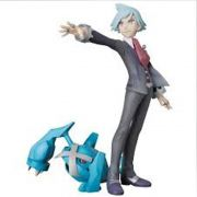 MEDICOM POKEMON STEVEN STONE & METAGROSS
