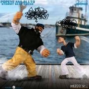 Mezco One Popeye & Bluto  Stormy Seas Ahead Deluxe Figure