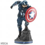 NECA Marvel Gamerverse Avengers Captain America 1/10 Statue