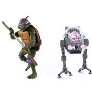 Neca TMNT Donatello Vs. Krang Cartoon 2 Pack Action figure