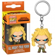 POCKET POP KEYCHAIN ALL MIGHT TRUE FORM MY HERO ACADEMIA