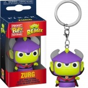POCKET POP KEYCHAIN CHAVEIRO ALIEN AS ZURG PIXAR toy story