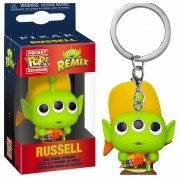 POCKET POP KEYCHAIN CHAVEIRO ALIEN RUSSEL TOY STORY