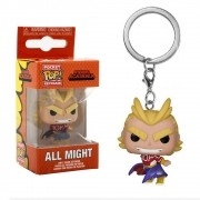 POCKET POP KEYCHAIN CHAVEIRO ALL MIGHT MY HERO ACADEMIA