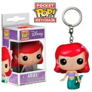 POCKET POP KEYCHAIN CHAVEIRO ARIEL DISNEY