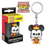 POCKET POP KEYCHAIN CHAVEIRO FUNKO BAND CONCERT MICKEY