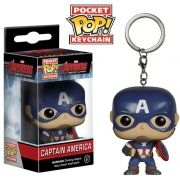 POCKET POP KEYCHAIN CHAVEIRO FUNKO CAPTAIN AMERICA