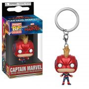 POCKET POP KEYCHAIN CHAVEIRO FUNKO CAPTAIN MARVEL W/HELMET
