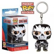 POCKET POP KEYCHAIN CHAVEIRO FUNKO CROSSBONES CIVIL WAR