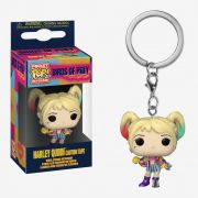 POCKET POP KEYCHAIN CHAVEIRO FUNKO HARLEY QUINN CAUTION TAPE